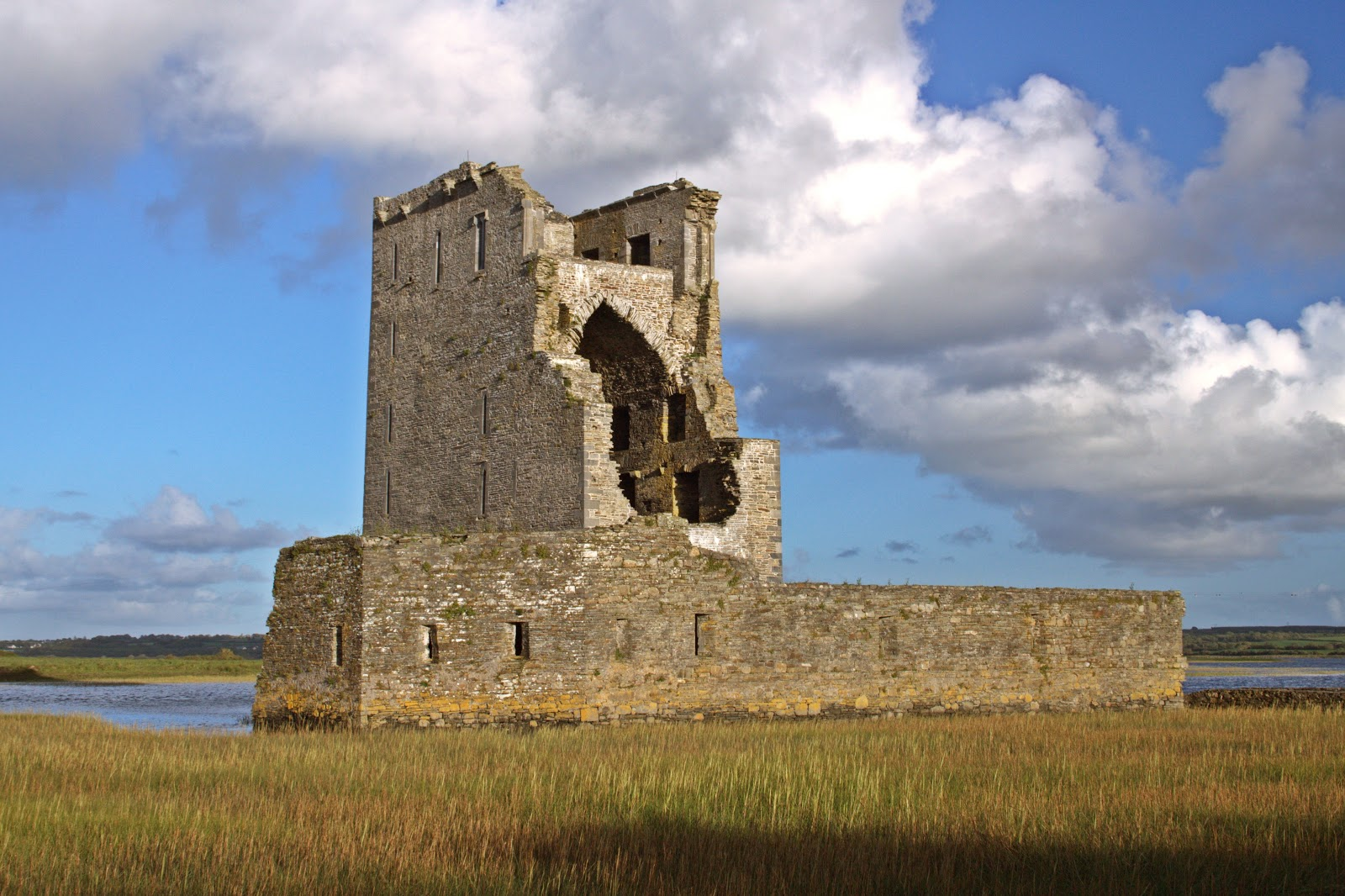 Carrigafoyle Castle, County Kerry
