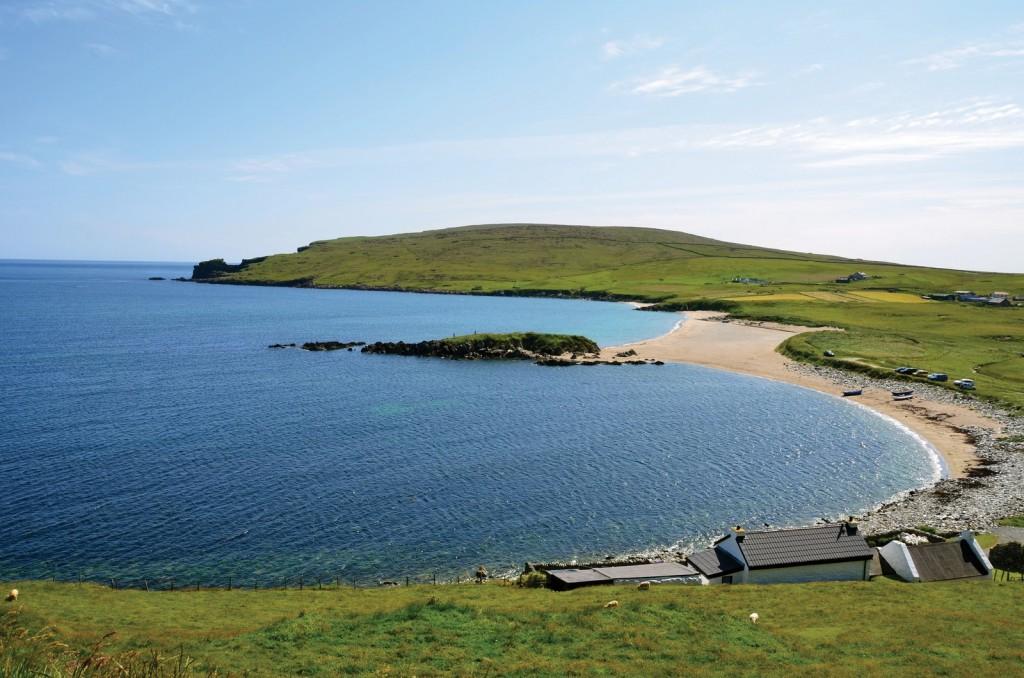 Norwick Beach, Unst, Shetland Islands