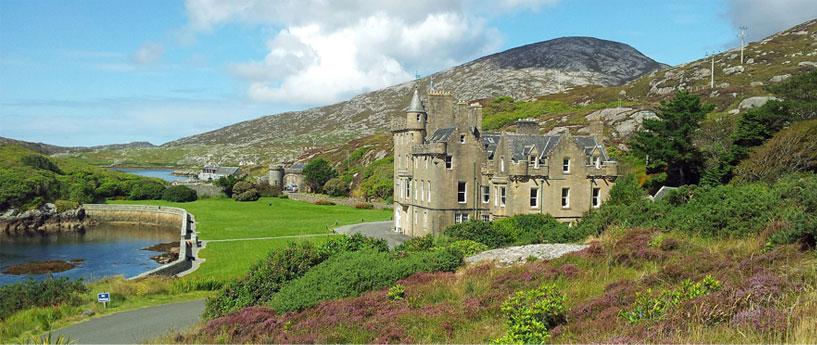 Amhuinnsuidhe Castle, Harris, Scotland
