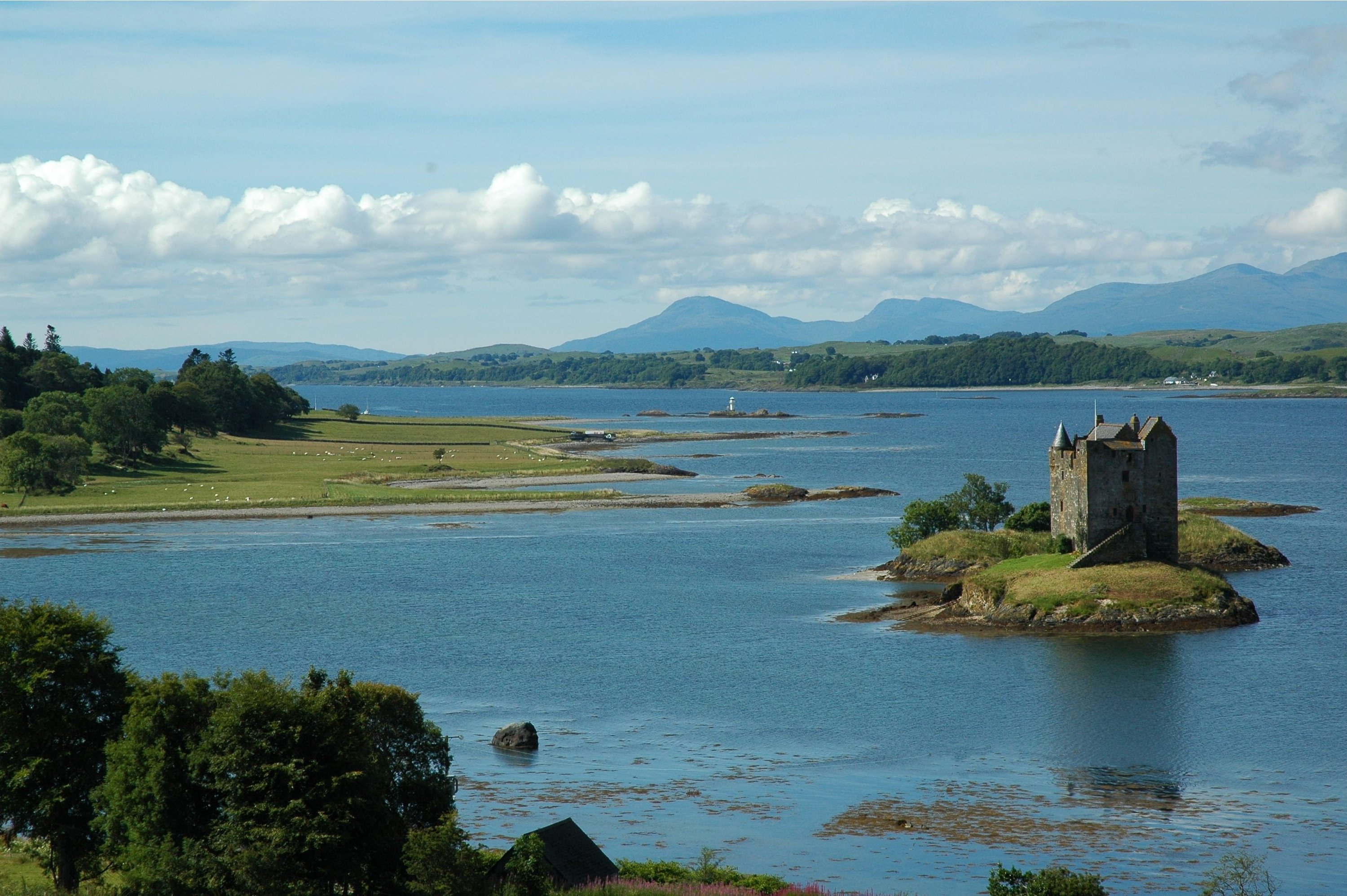 Castle Stalker, Southern Highlands & Islands