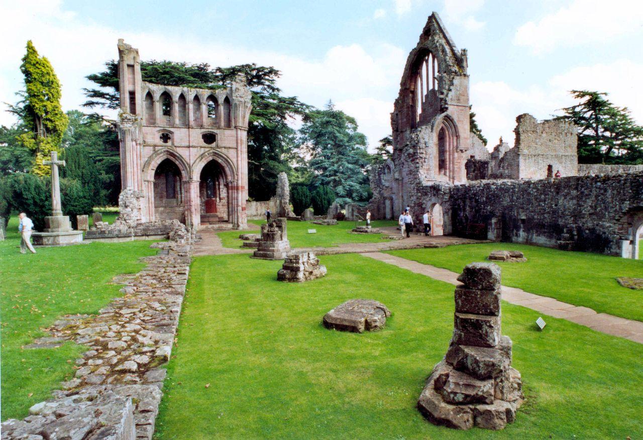 Dryburgh Abbey, Berwickshire