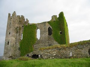ballycarbery castle ireland on tour