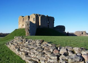 Duffus Castle, Morayshire, Grampian