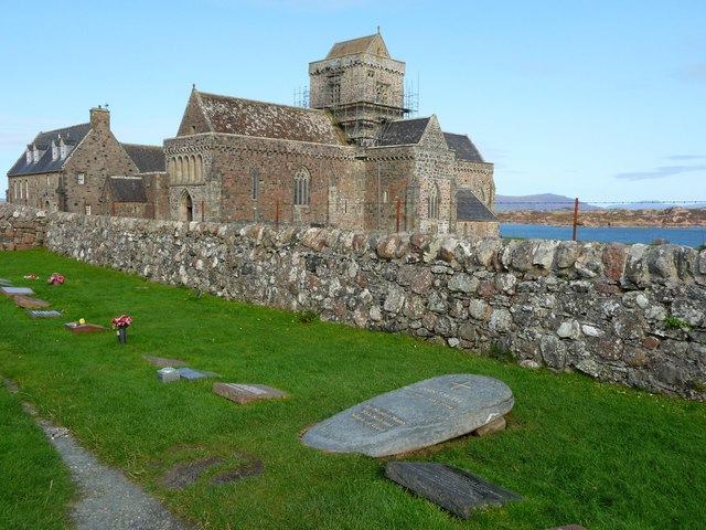 Iona Cathedral, Argyll, Strathclyde, Scotland