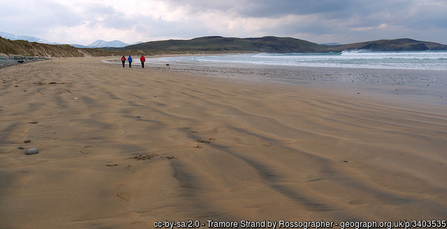 Tramore Strand by Rossographer