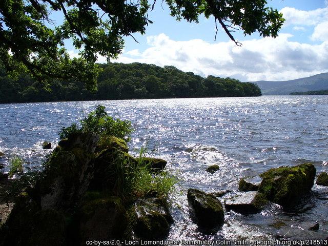 Balmaha, Loch Lomond, By Colin Smith