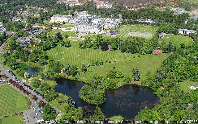 Gleneagles Hotel and grounds by Simon Ledingham
