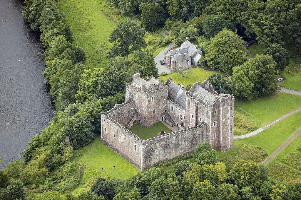Doune Castle, By Andrew Shiva/Wikipedia