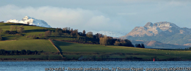 Rosneath Peninsula, Argyll & Bute, by Thomas Nugent