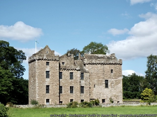 Huntingtower Castle, Perthshire